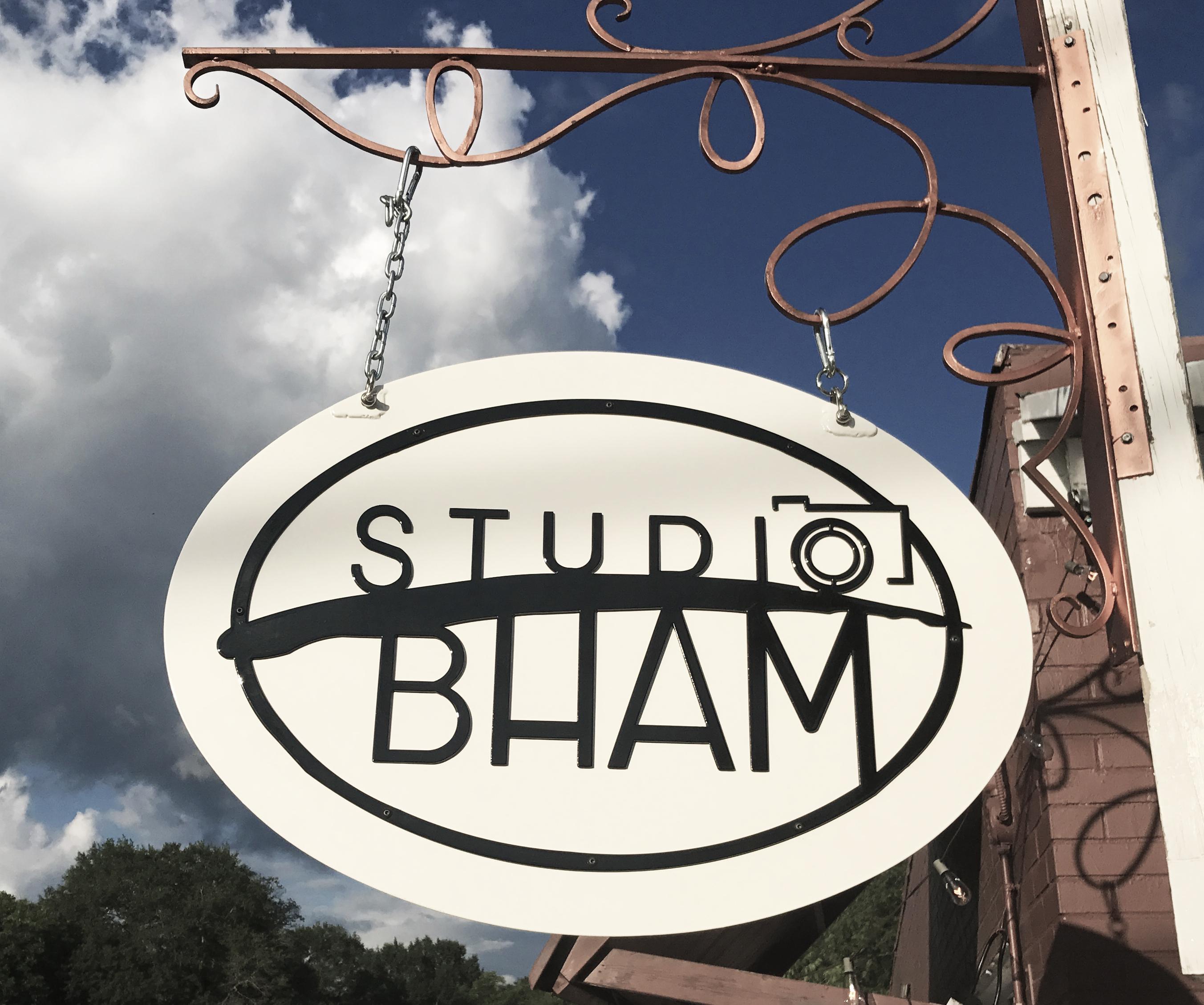 Studio BHAM sign